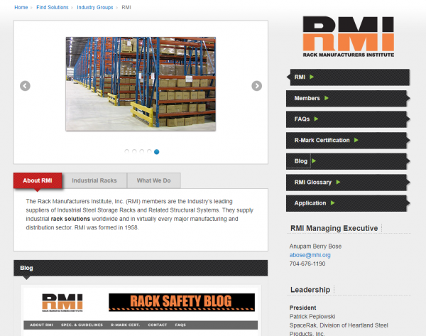 RMI Website